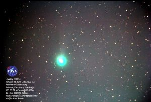 lovejoy Comet 2014 - CASA Assalaam Observatory
